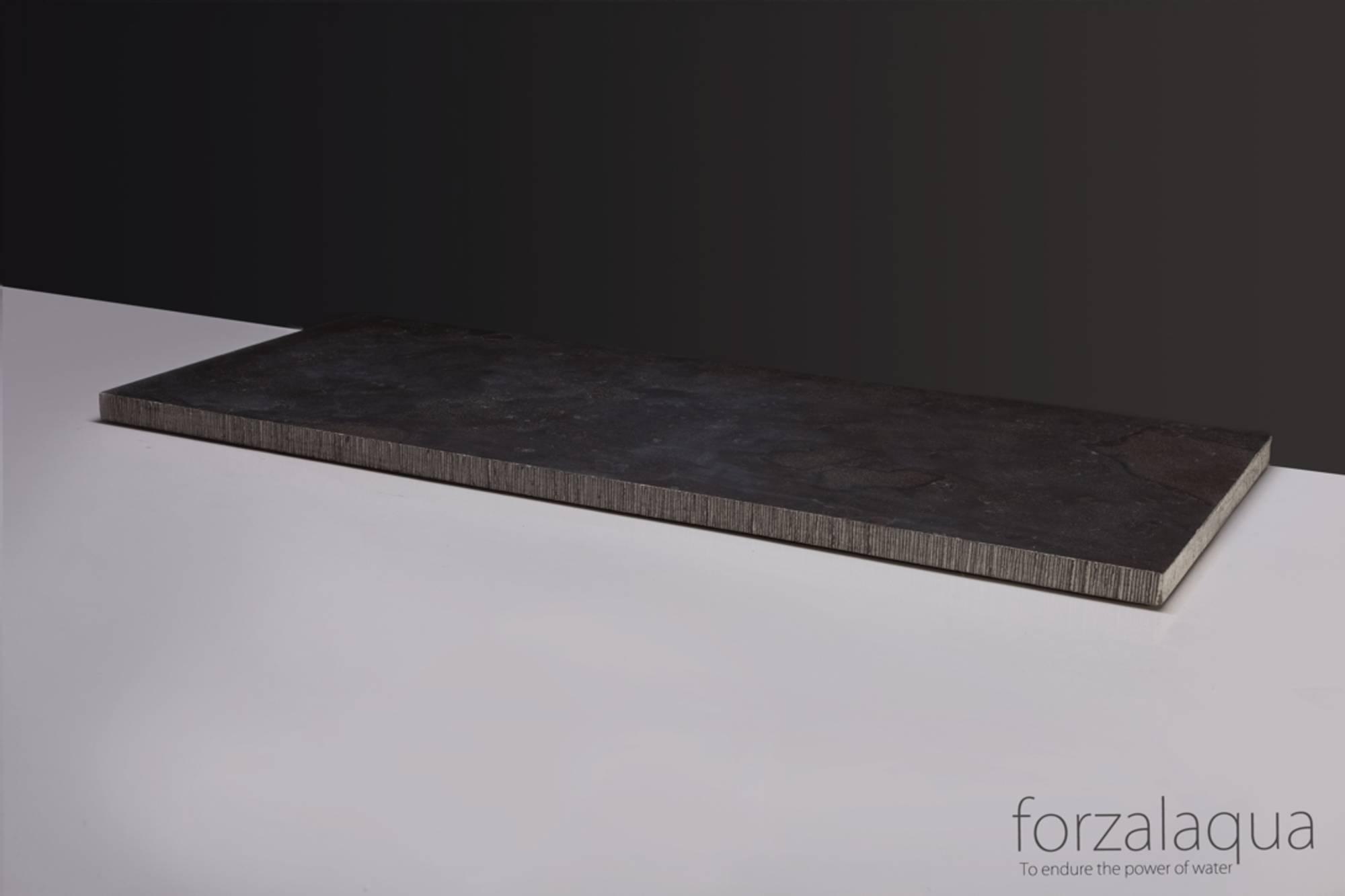 Forzalaqua Plateau 140,5 x 51,5 x 3,0 cm Hardsteen gefrijnd