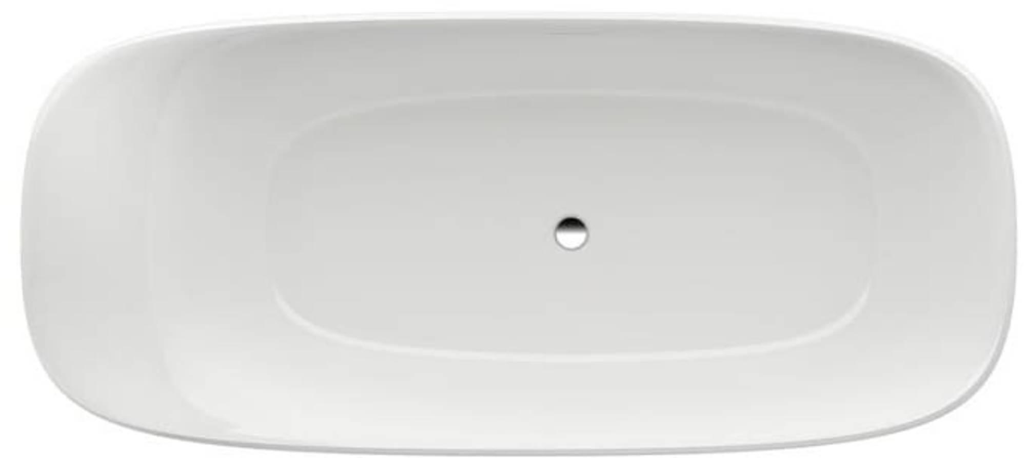 Laufen Ino bad vrijstaand ovaal 180 x 80 cm. wit