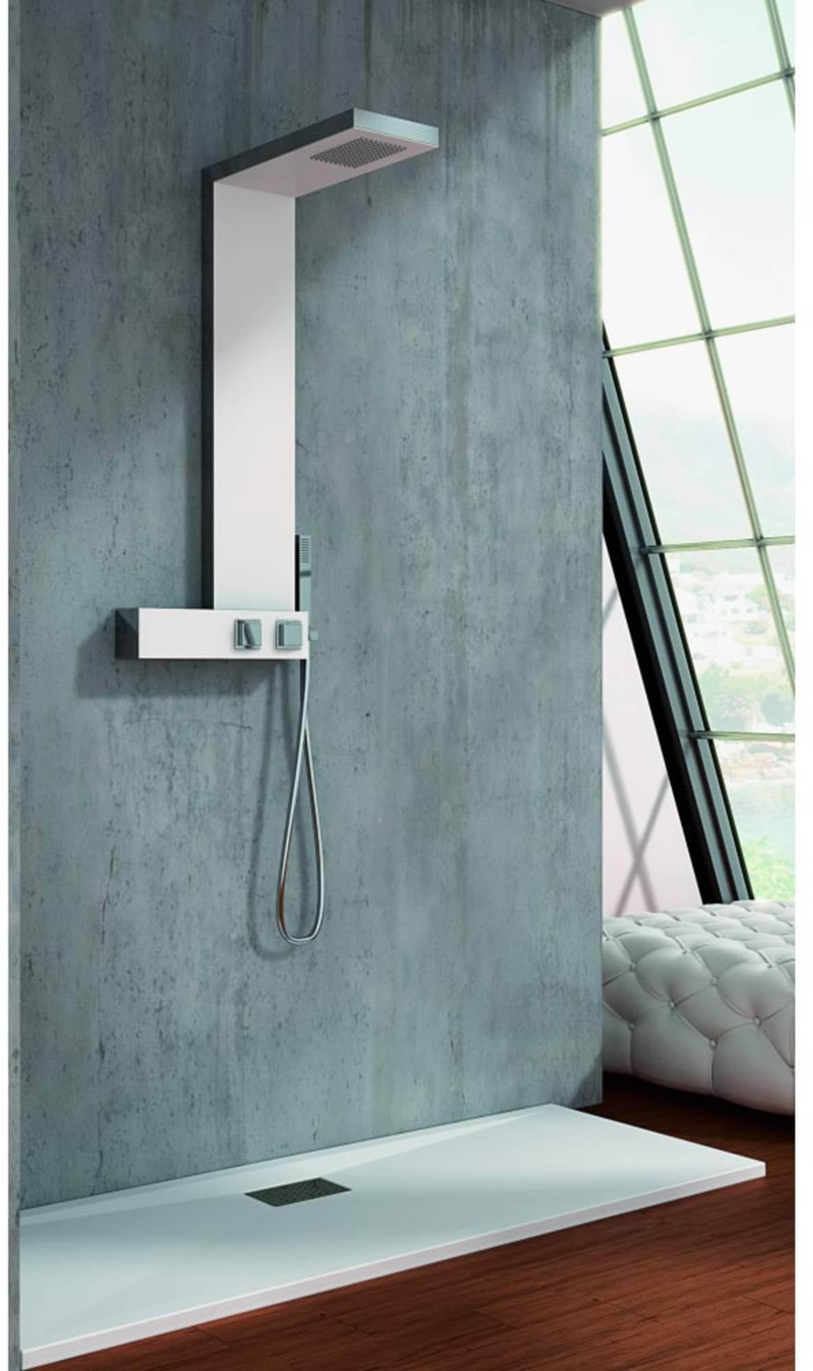 Productafbeelding van Kinedo Aquadesign douchepaneel met thermostaat