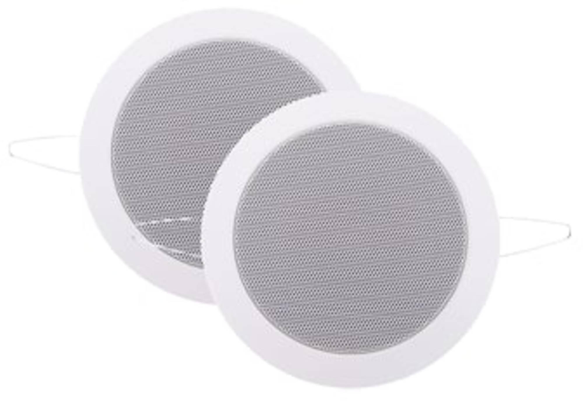 Speakerset Aquasound Twist Spatwaterdicht 45 Watt 135 mm Wit (RAL 9016)