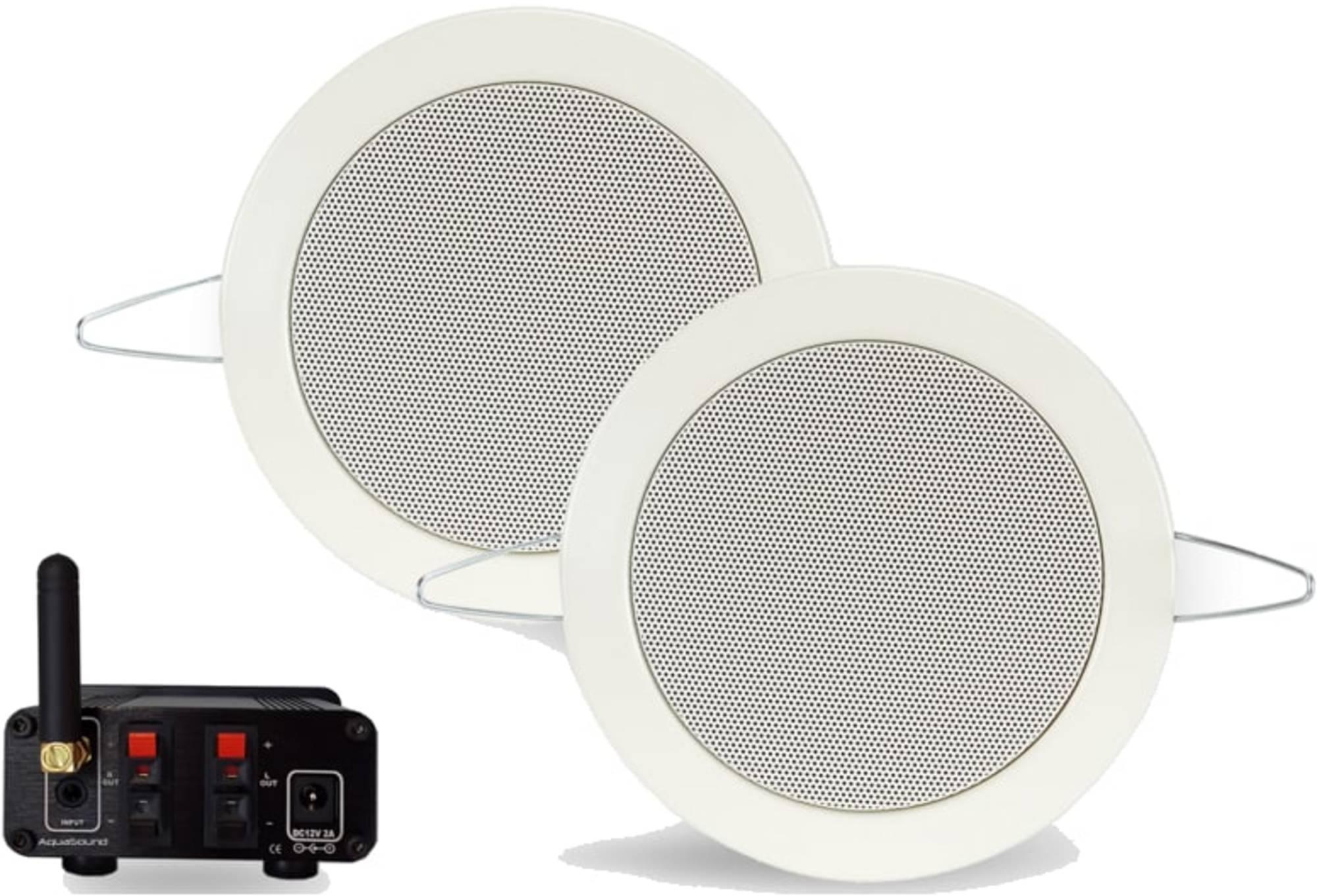 Bluetooth Music Center Aquasound 35 WATT-BT4.0 + Twist Speakerset