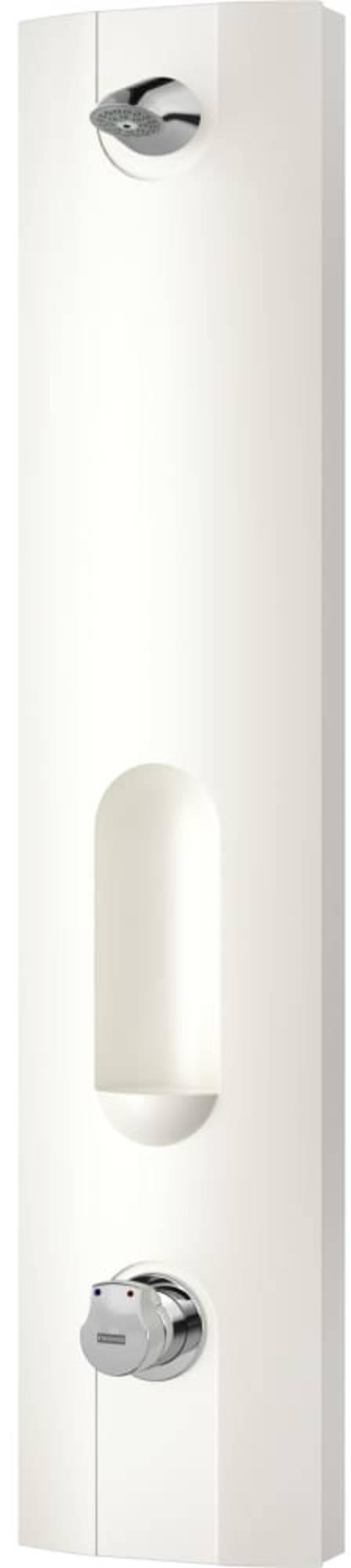 Franke Aquamix douchepaneel 742 met Nis 25x88x116 cm Wit