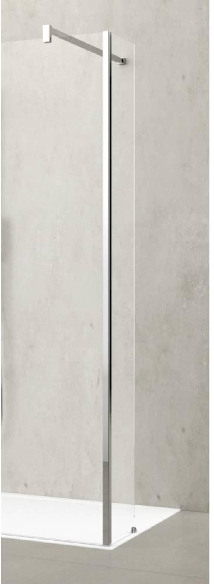 Novellini Kuadra draaideel voor Inloopdouche 37x200 cm