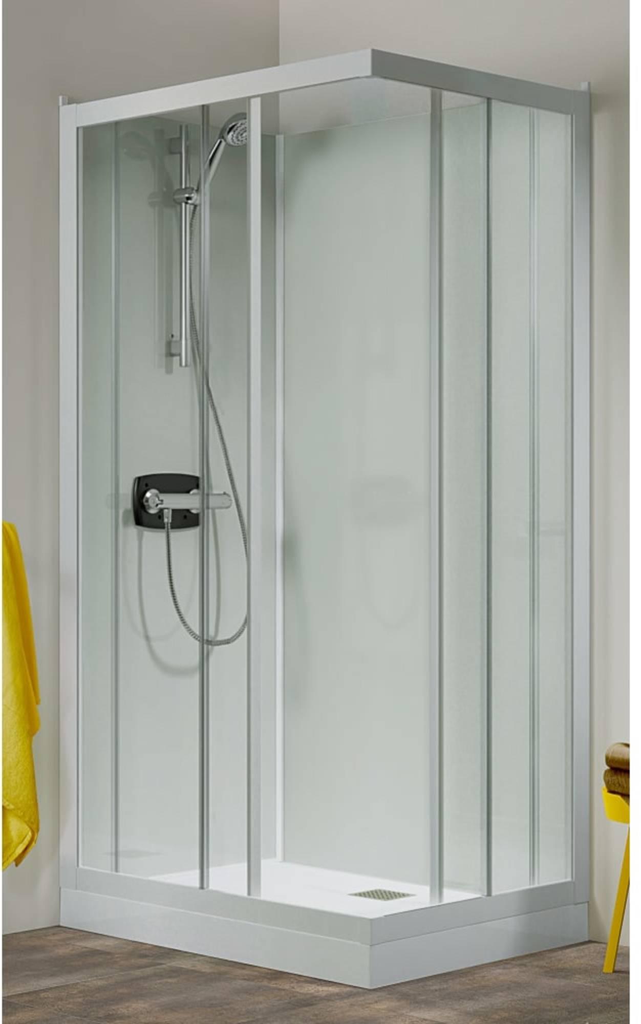 Productafbeelding van Kinedo Kineprime glass douchecabine met schuifdeur 90x208 en thermostaat