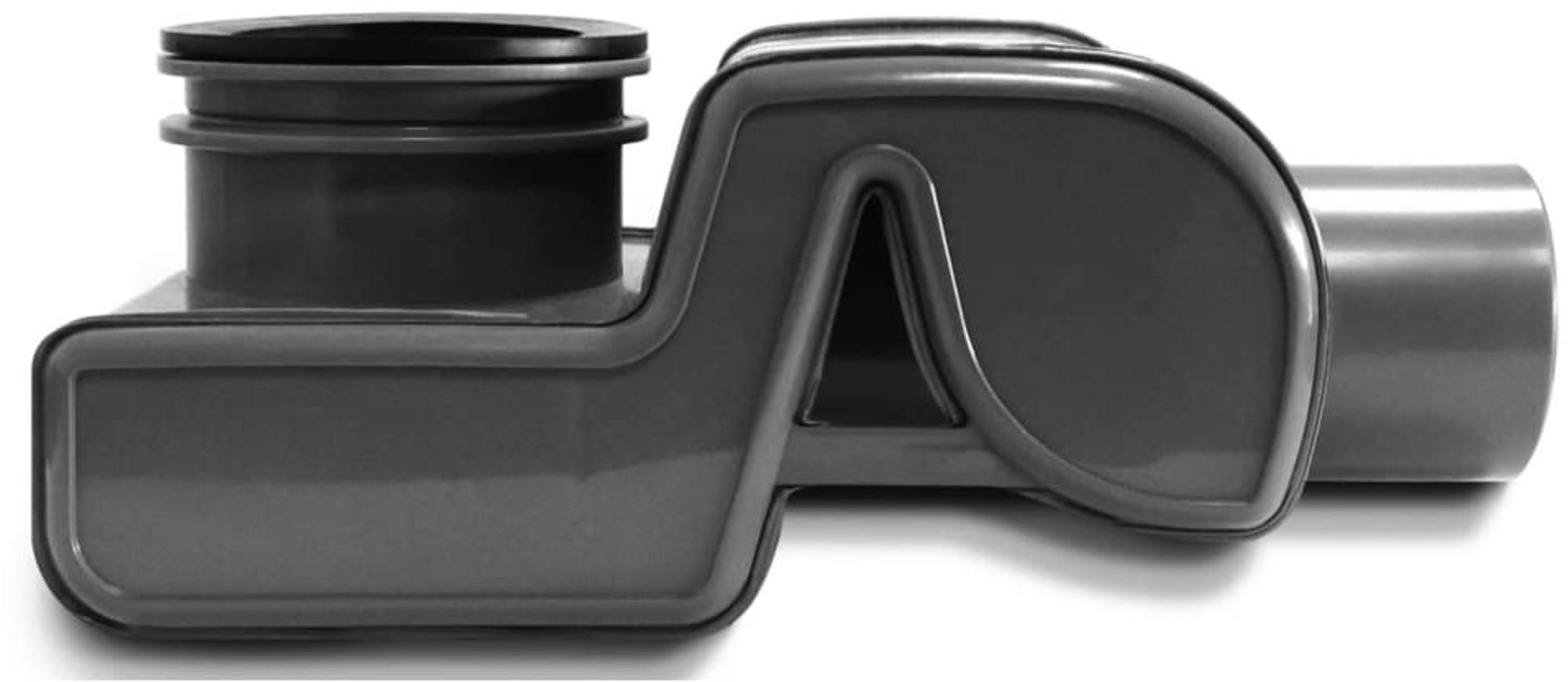 Easy Drain sifon waterstop met waterslot 50 mm., zwart