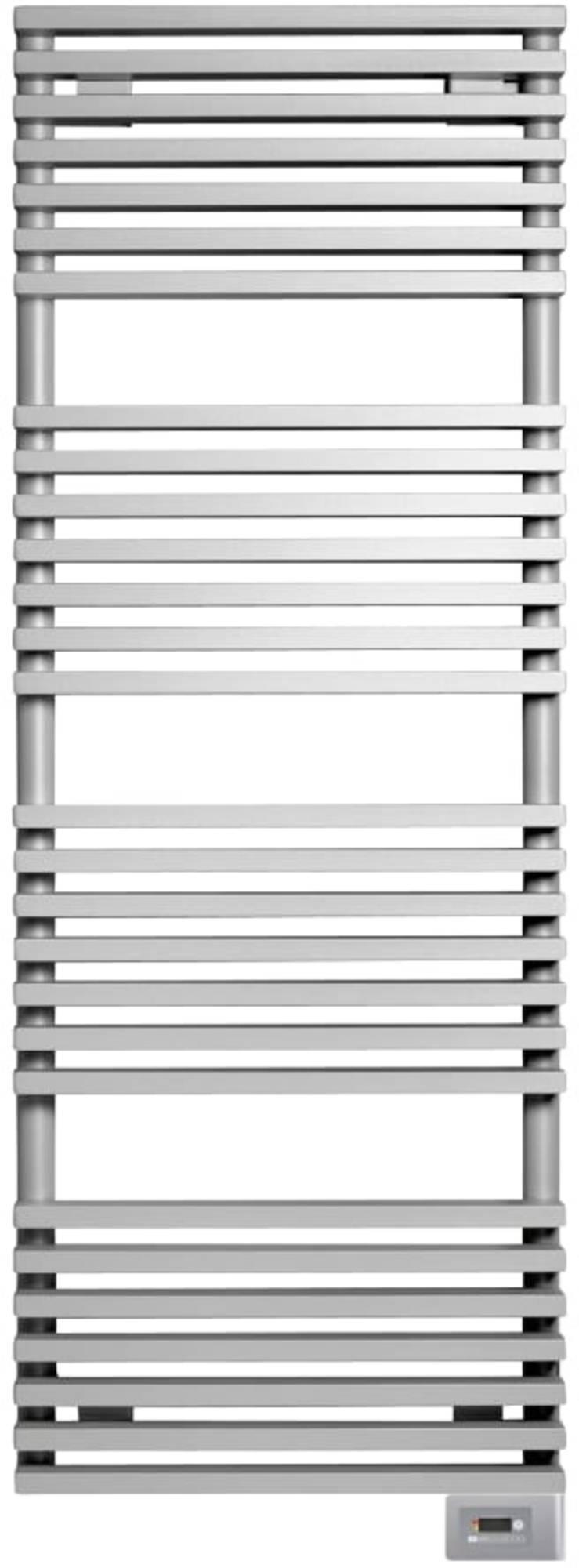 Vasco Zana Bad-EL elektrische designradiator 182x50cm 1250W Verkeerswit