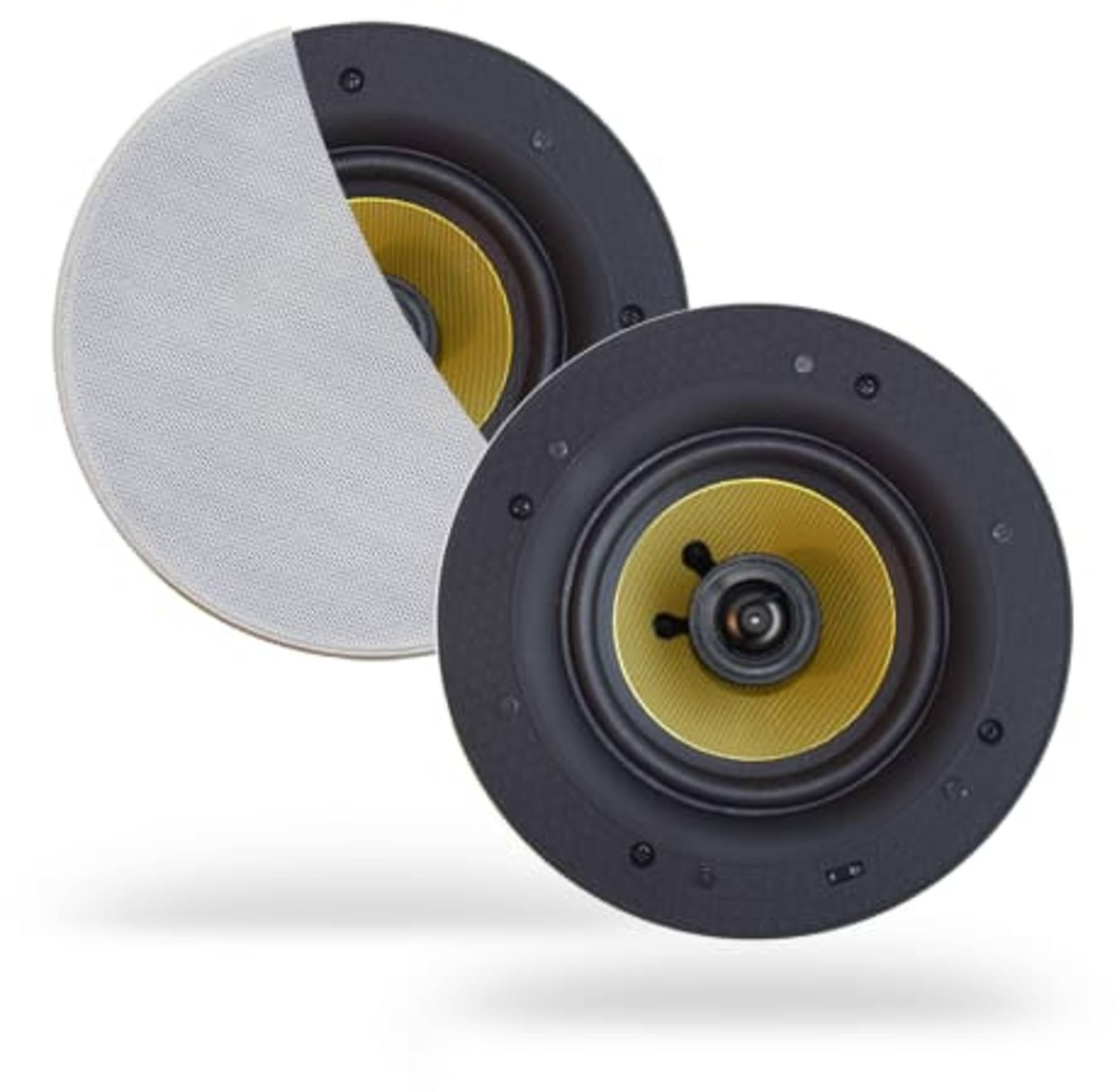 Aquasound Speakerset 20,5x7,4 cm 60W Wit
