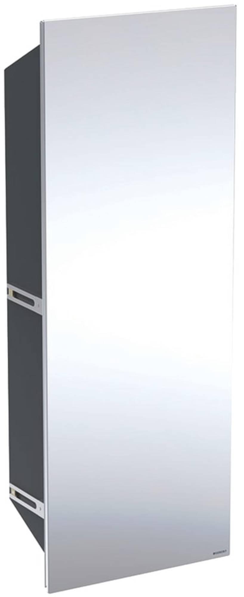 geberit One Schuifdeur Spiegel Links voor Inbouwbox 30x4x80 cm