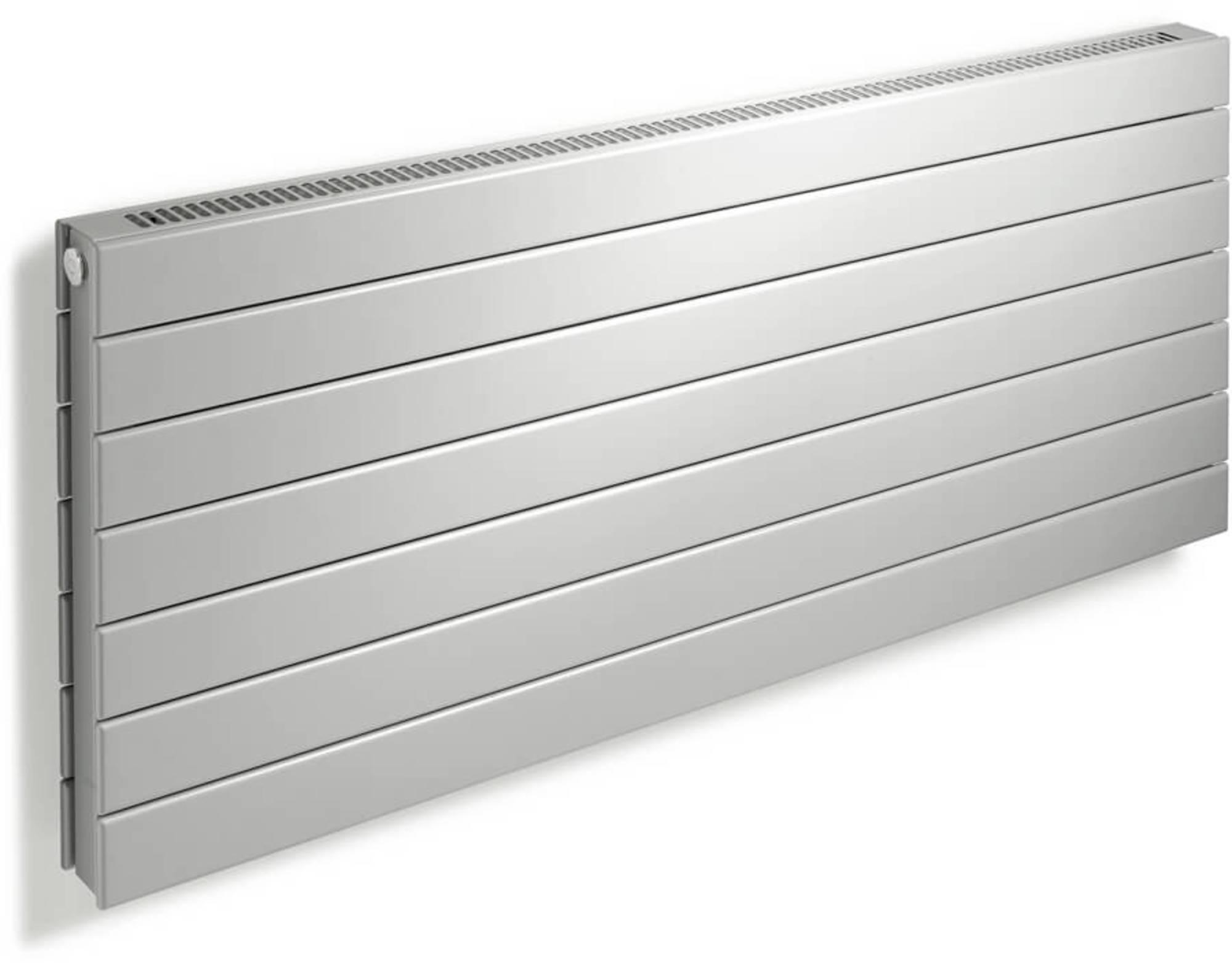Vasco Viola Horizontaal H1L1-RO Designradiator as=0018 110x36 cm Signaalzwart