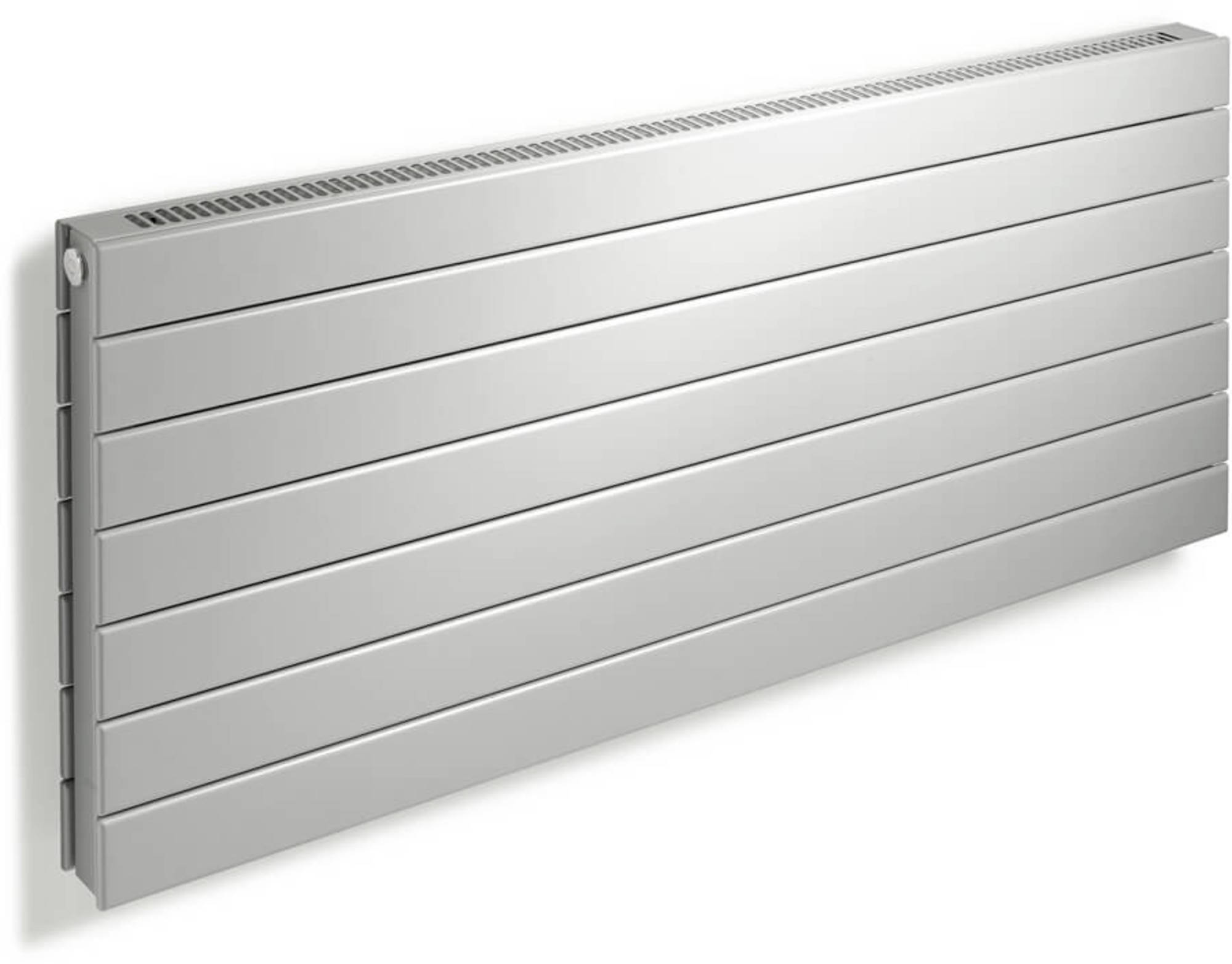 Vasco Viola Horizontaal H1L1-RO Designradiator as=0018 240x28,8 cm Signaalzwart