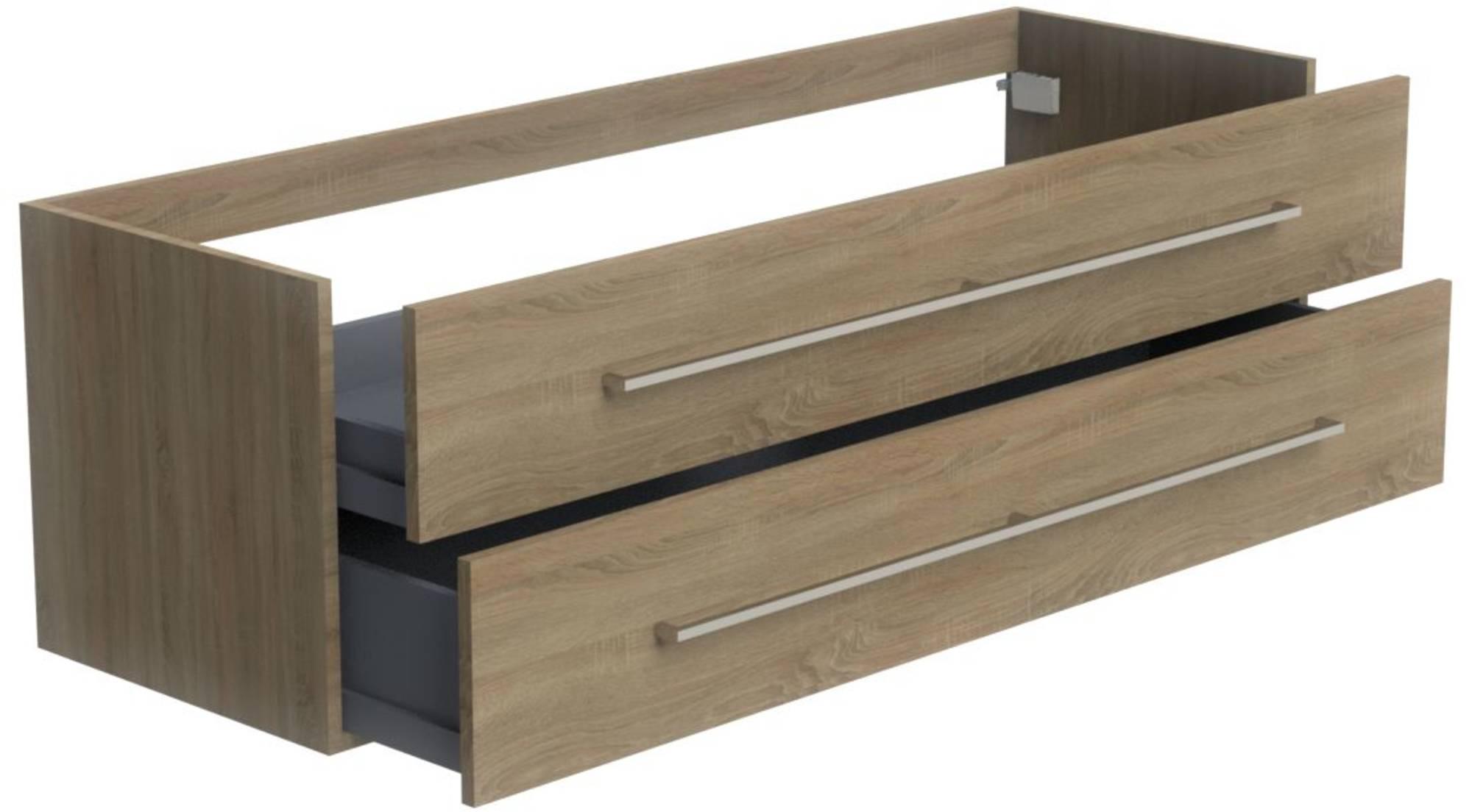 Thebalux Nuance Wastafelonderkast 160x51,5x50 cm Jackson Pine