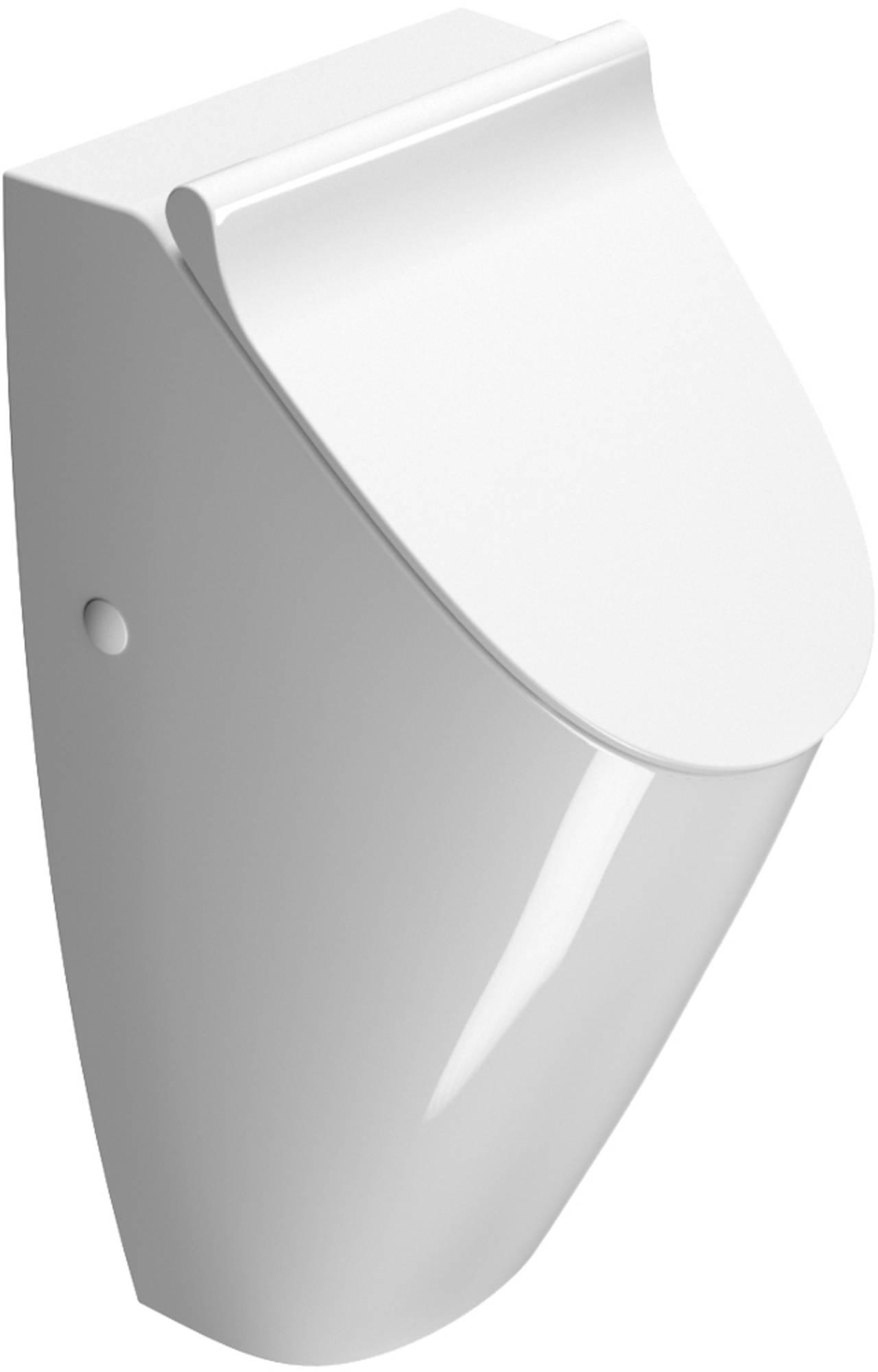 Productafbeelding van Ben Stilo urinoir geschikt voor deksel 31x35x65cm Xtra glaze+ wit