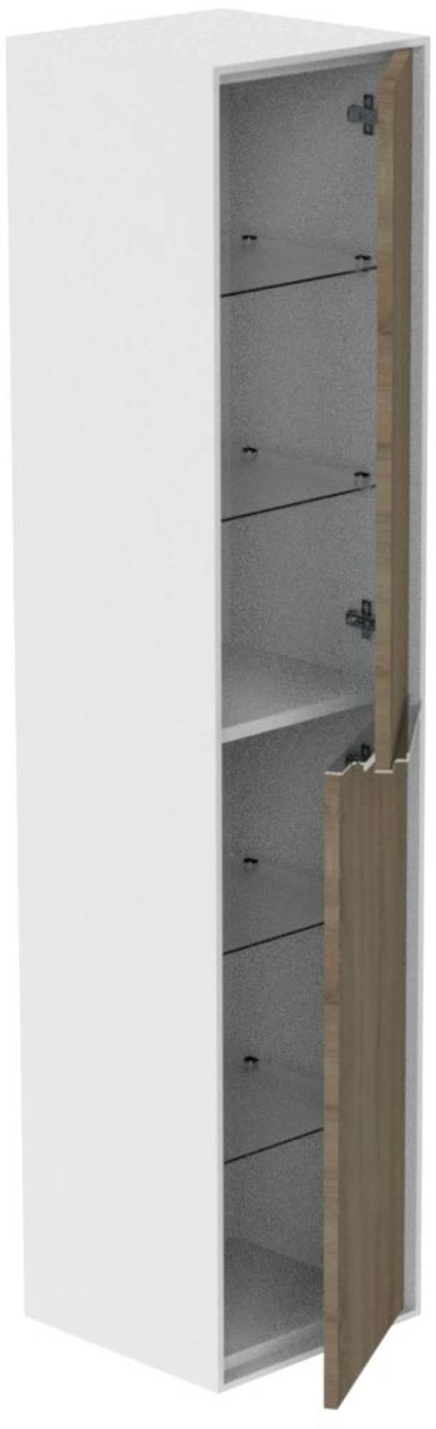Thebalux Sense Hoge Kast 37x30,6x167 cm Nebraska Eiken