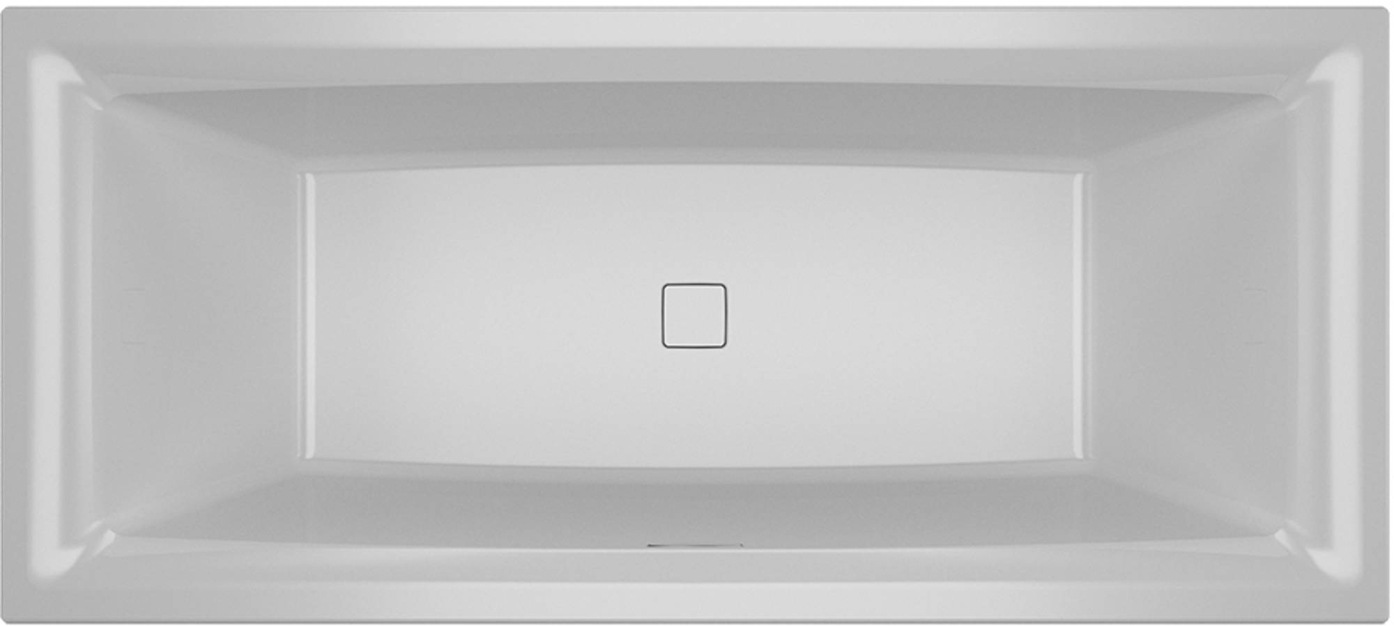 Riho Still Square Ligbad 170x75 cm Wit