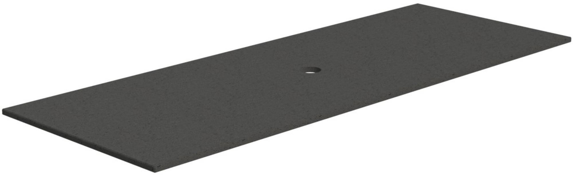 Thebalux Stone 2 Afdekblad Composiet 130x48,5x2 cm Taupe Grain