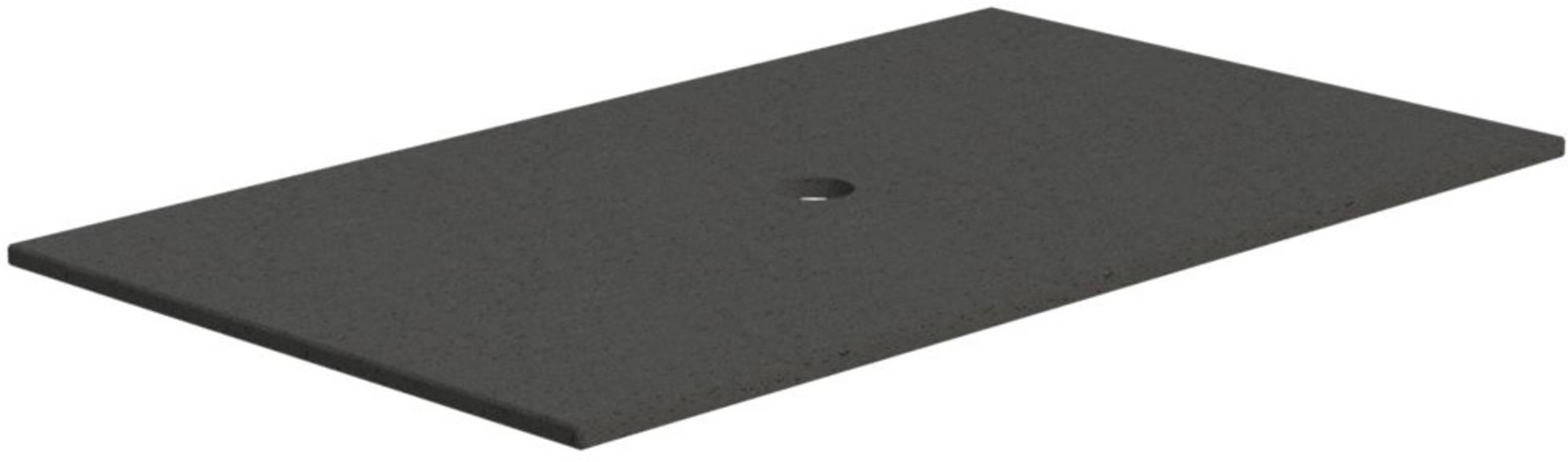 Thebalux Stone 1 Afdekblad Composiet 82x48,5x2 cm Cement Grigio Satin