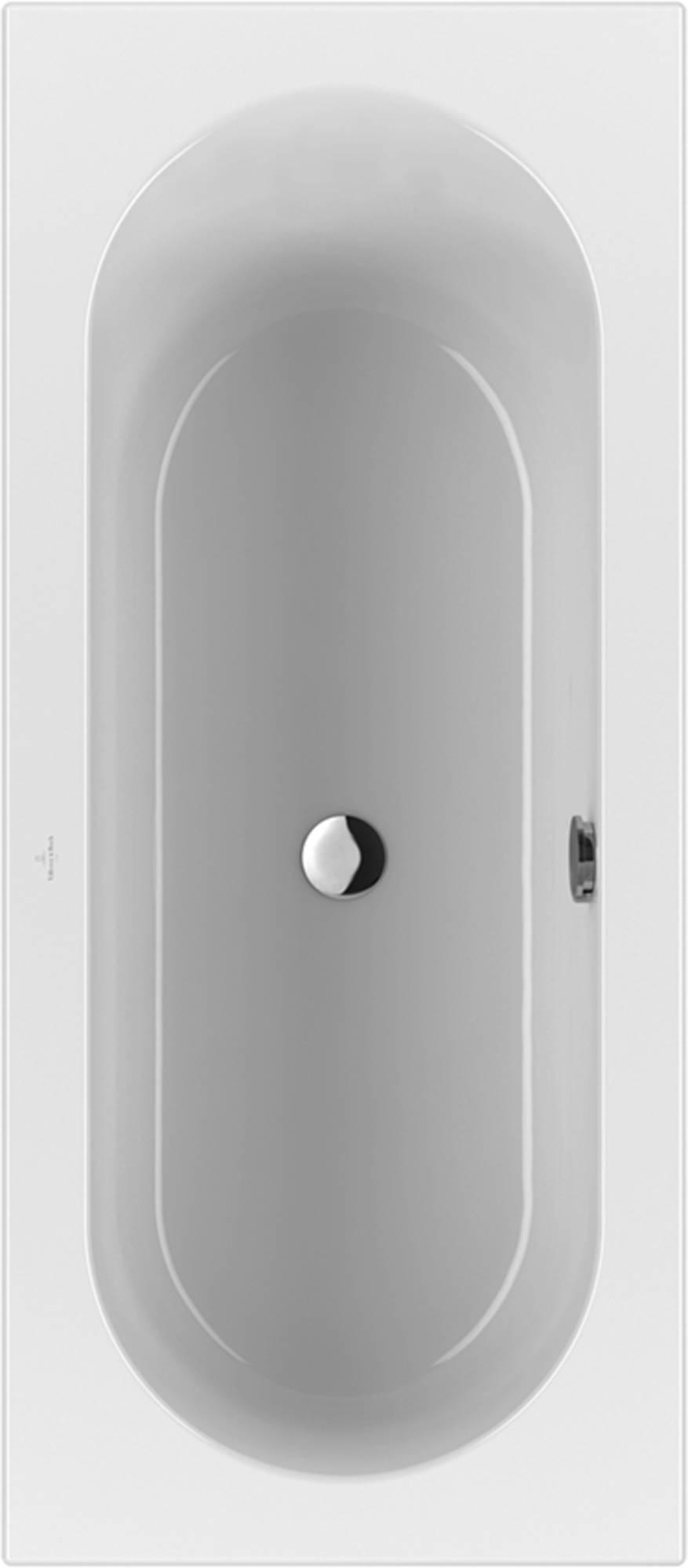 Villeroy&Boch Loop&Friends Bad Acryl 70x160 cm Star White