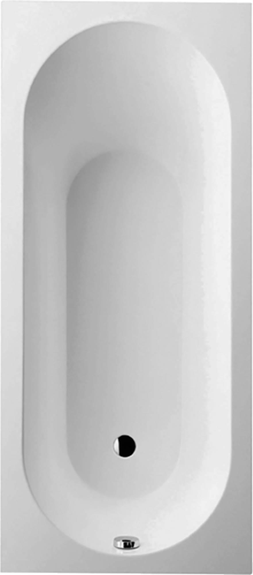Villeroy&Boch Oberon Bad Acryl 75x160 cm Alpin wit