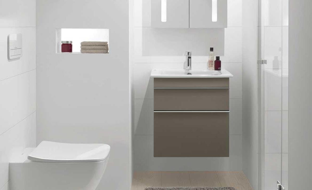 Badkamermeubels voor de kleine badkamer - Inspiratie - Saniweb.nl