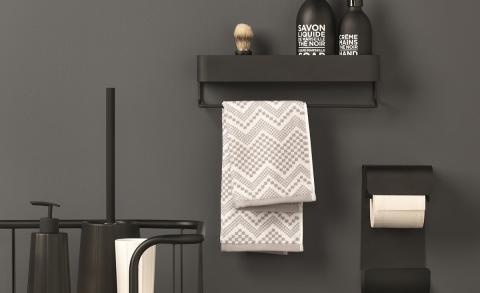 Onze favoriete zwarte producten voor de badkamer