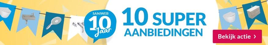 Saniweb 10 jaar