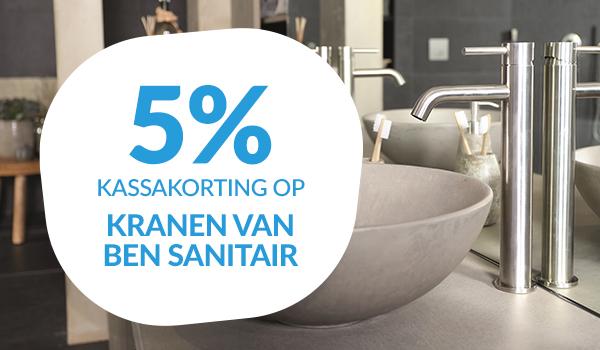5% kassakorting op Ben kranen