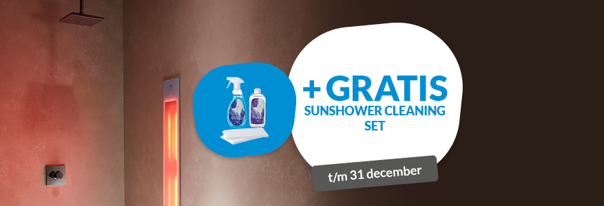 Gratis Sunshower Cleaning set