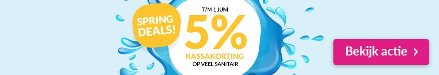 Spring Deals bij Saniweb