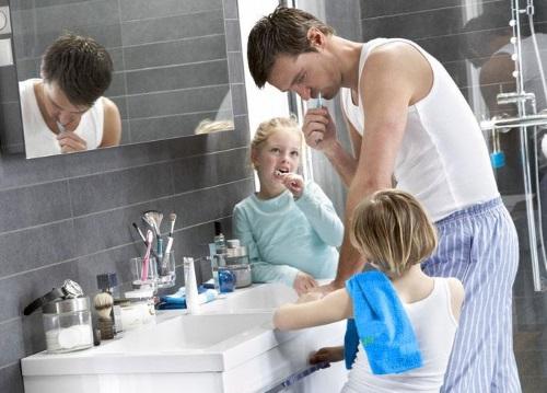 Badkamermeubel voor het hele gezin