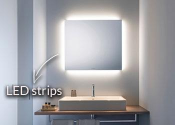 LED strips rondom