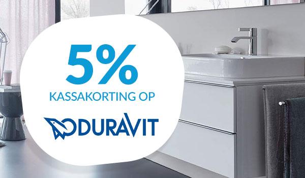 5% kassakorting op Duravit